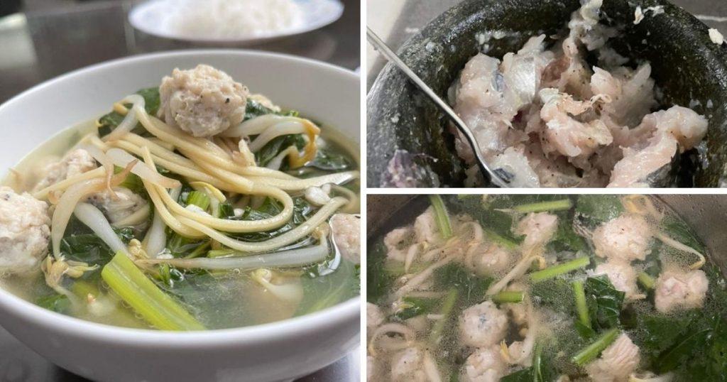 Mi Sup Bebola Ikan Tenggiri, Resipi Simple Tapi Sedap